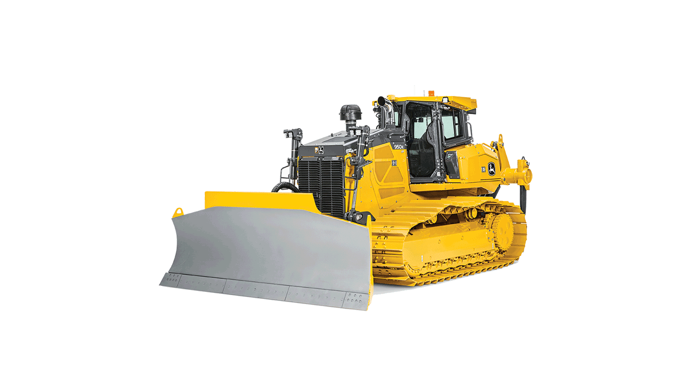 Imagen de estudio Tractor Topador 950K.