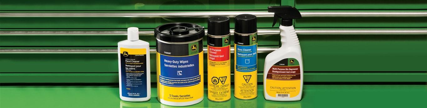 limpiadores, lubricantes, selladores de neumáticos