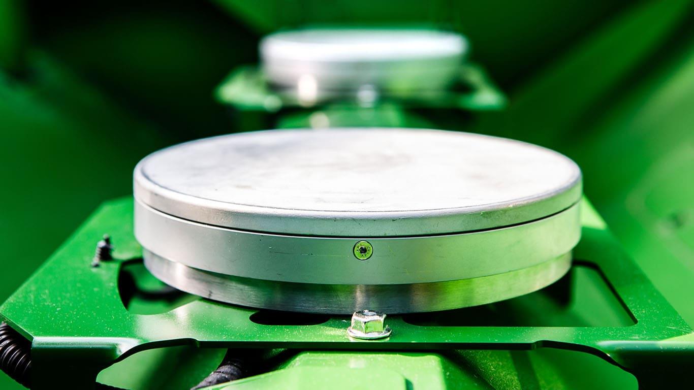 ActiveYield™: Calibración automática de rinde.