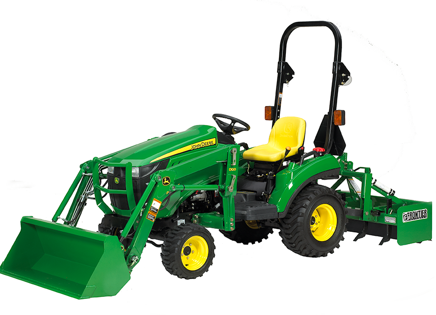 Cargadores para tractores compactos