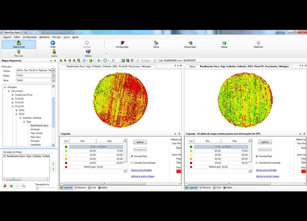 Software de gestión agrícola APEX™.