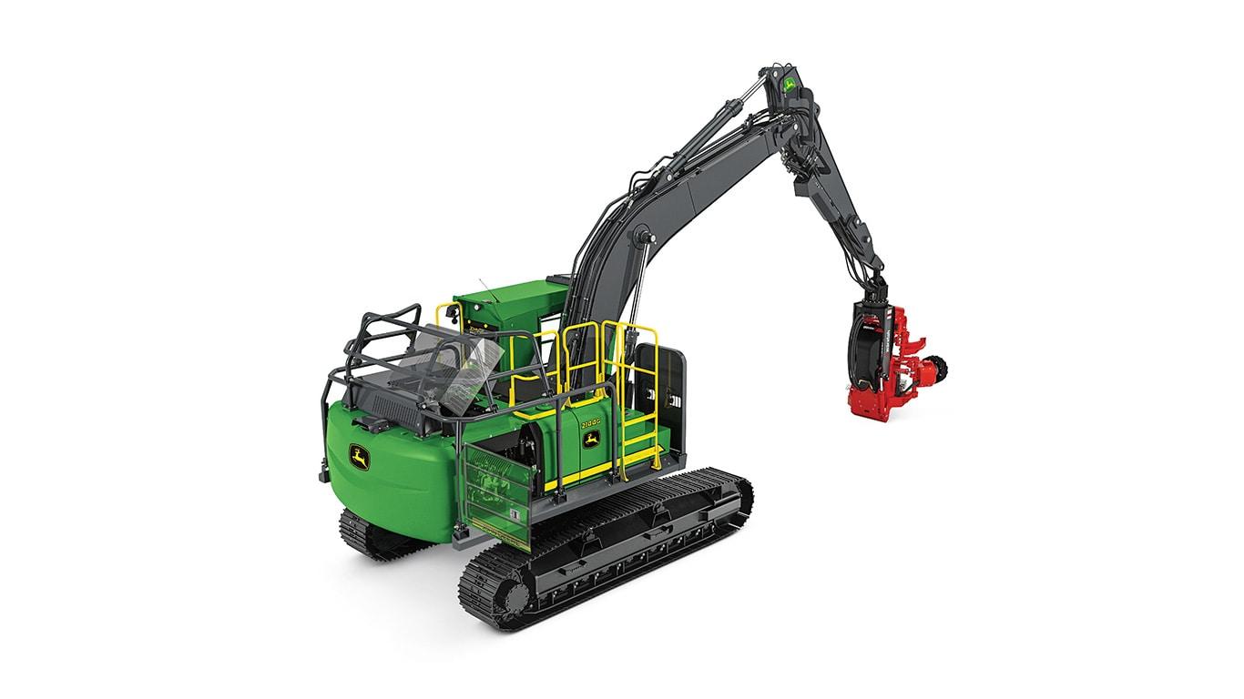2144G Máquina Forestal Giratoria
