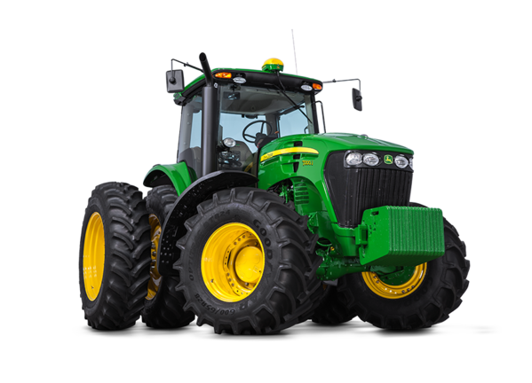 Tractor 7200J foto de estudio