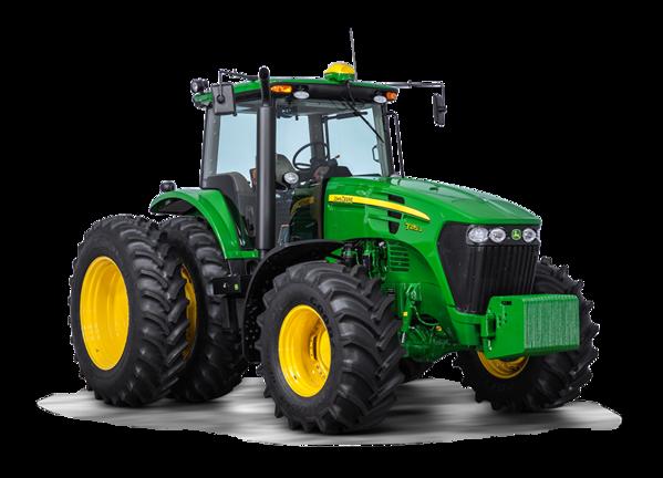 Tractor 7215J foto de estudio