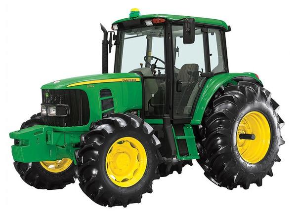 Tractor 6150J foto de estudio