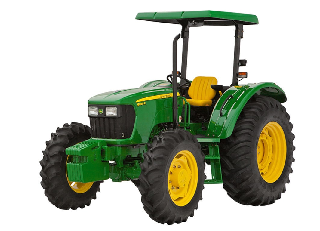 Imagen de estudio del Tractor 5065E.