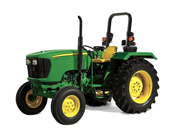 Imagen de estudio del Tractor 5045D.