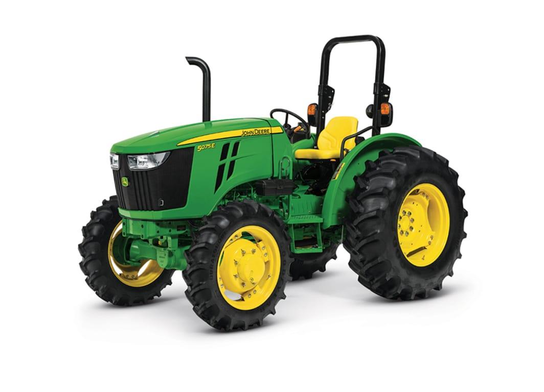 Imagen de estudio Tractor 5075E.