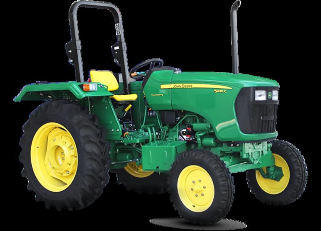 Imagen de estudio del Tractor 5036C.