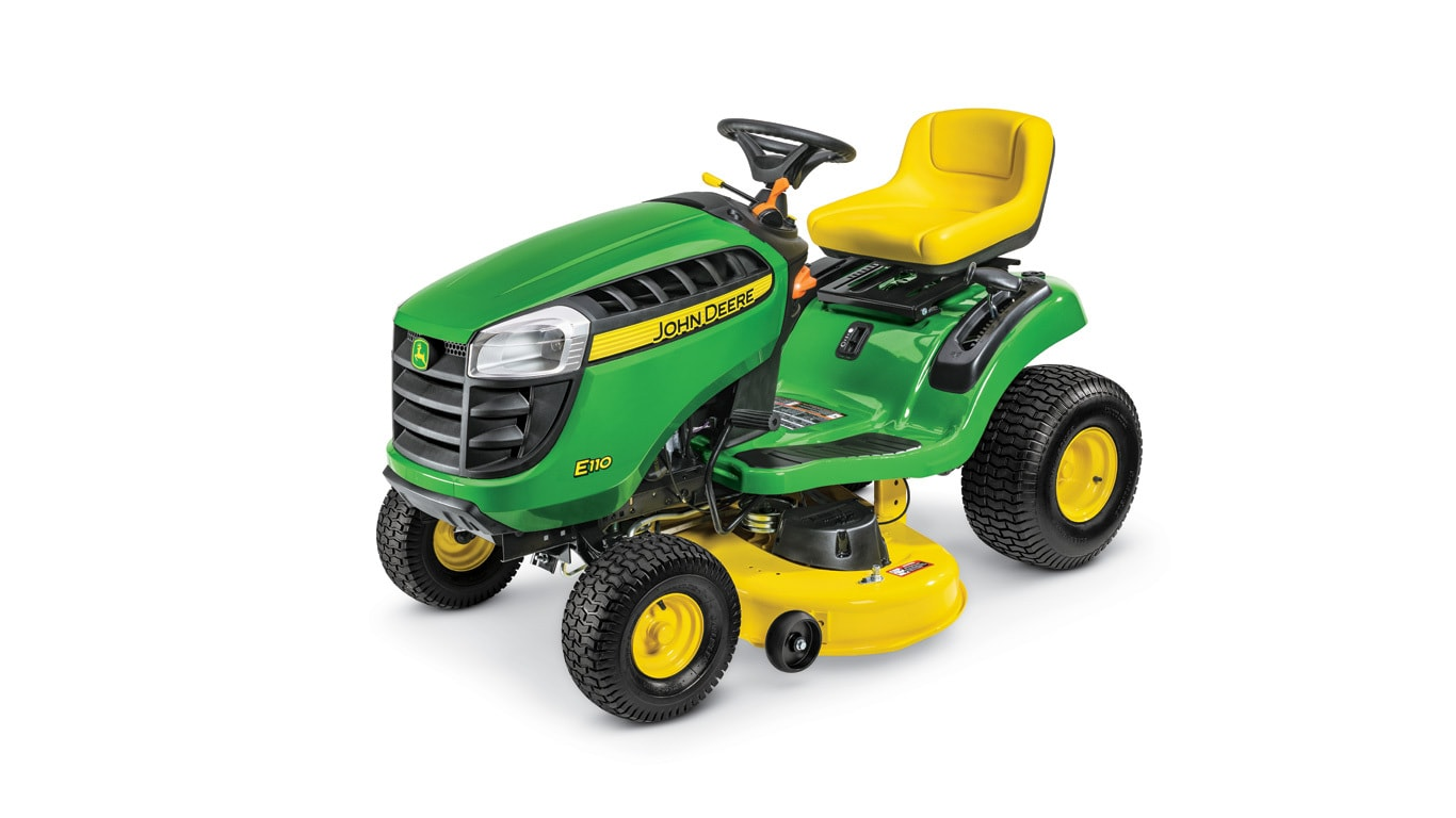 Imagen de estudio Tractor de Jardín E110.