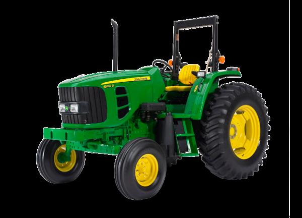 Tractor 6100D foto de estudio