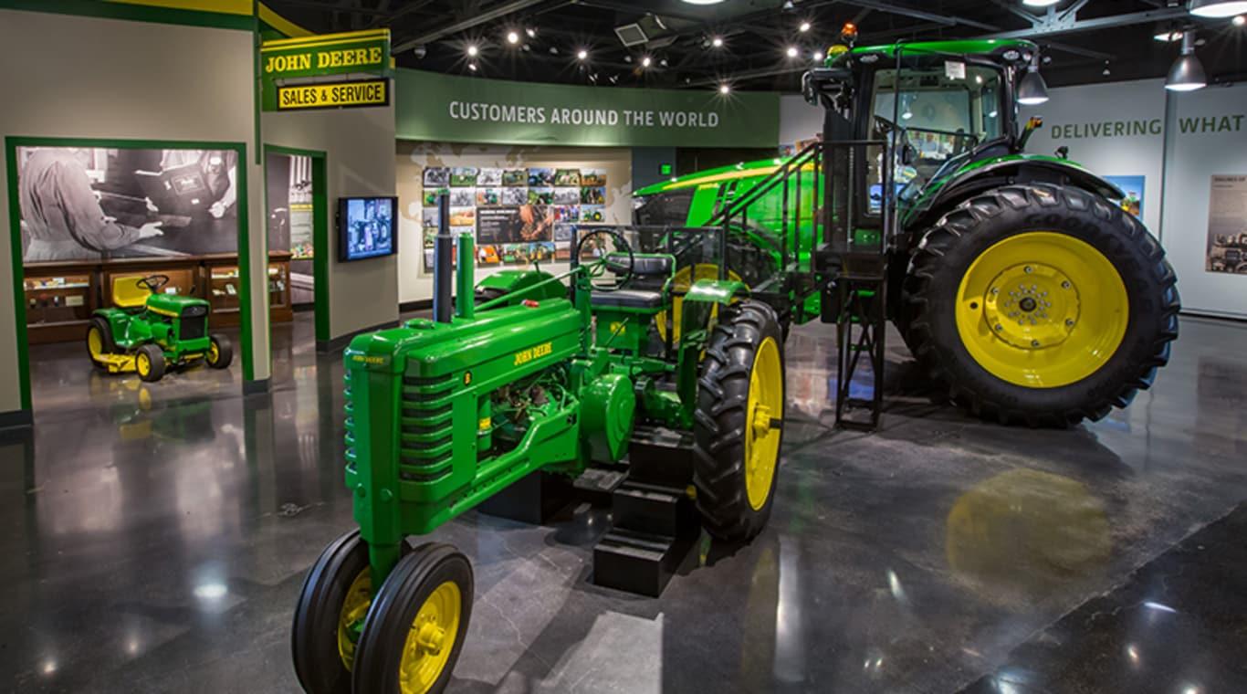 John Deere Tractor Amp Engine Museum In Waterloo John Deere Us