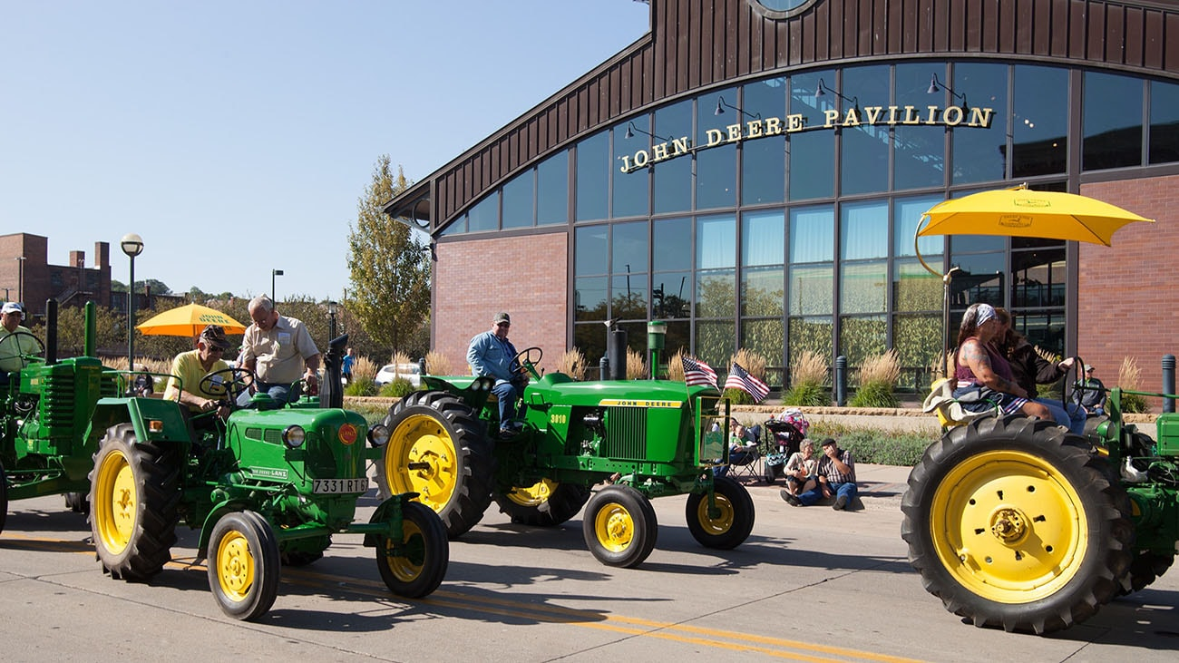 The John Deere Pavilion will host the 2018 Heritage Tractor Parade and Show on September 8