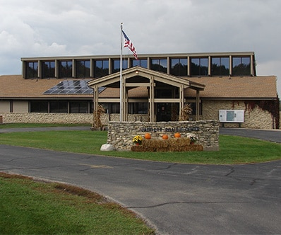 Exterior of the Byron Forest Preserve in Byron, IL