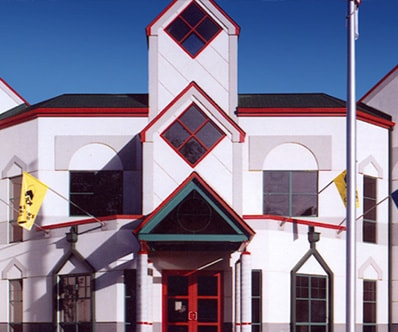 Exterior of the Childrens Museum of Illinois in Decatur, IL