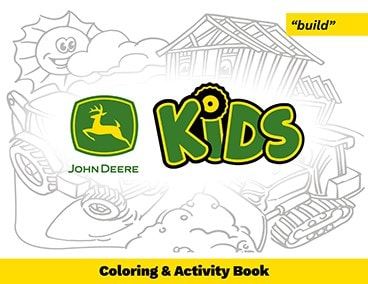 Build activity book cover page