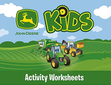 Activity Worksheets cover page