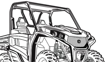 Screen shot of RSX860M Gator coloring page