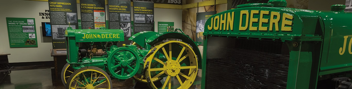 Tractor & Engine Museum | John Deere Attraction in Waterloo