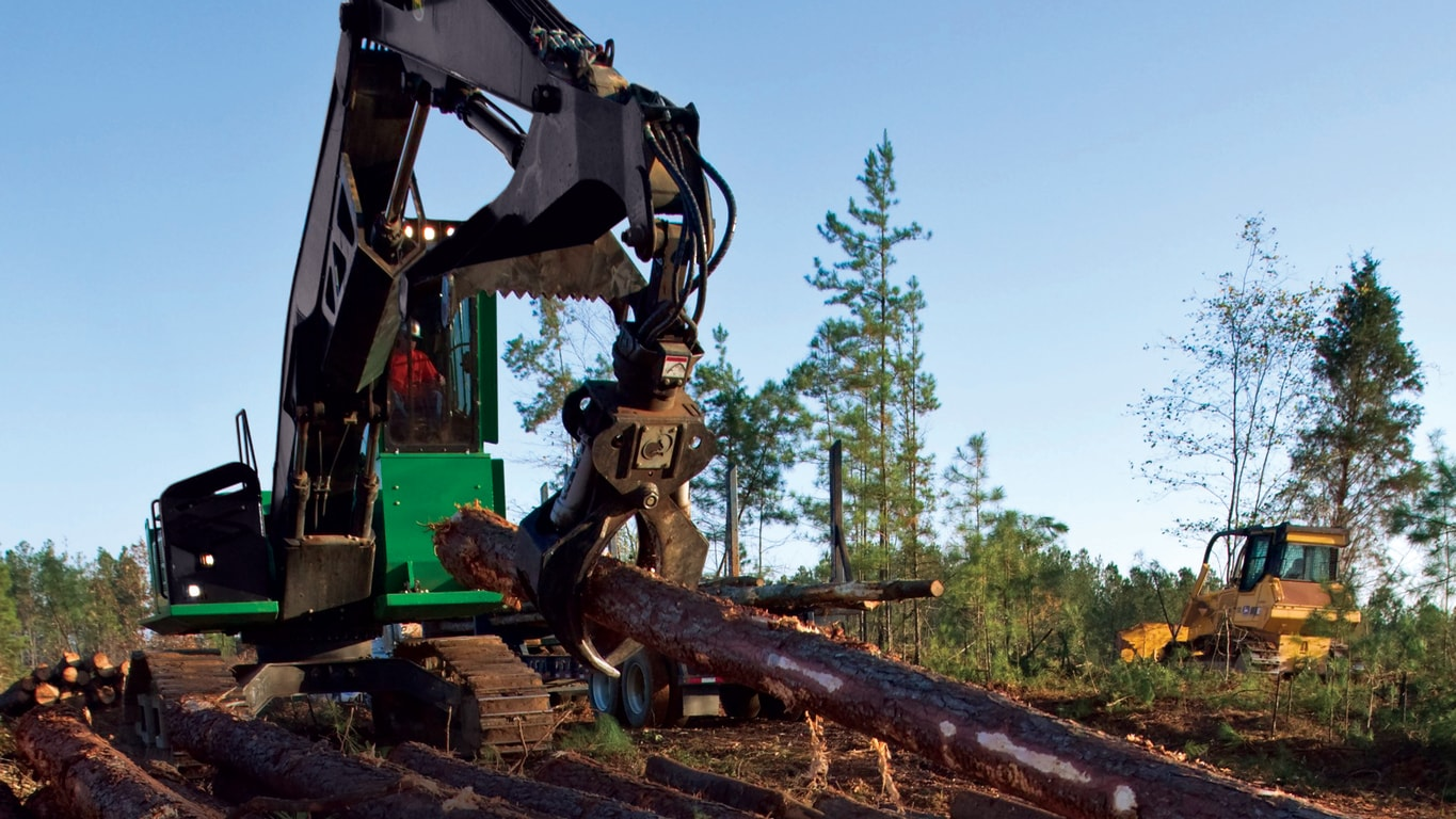 John Deere Forestry Swing Machine