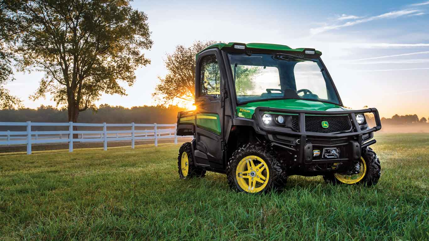 John Deere Gator purchased with special offer on farm