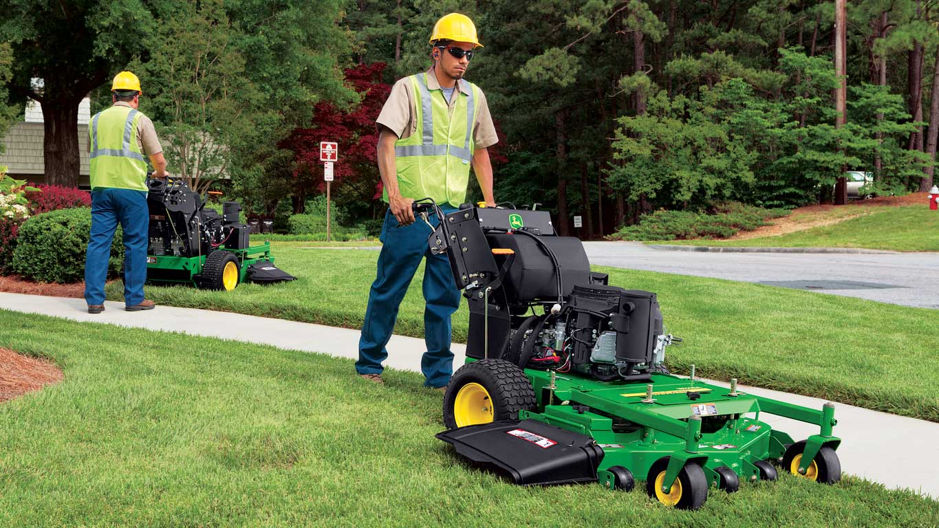 John Deere WH36A and WH48A Commercial Walk-Behind Mowers