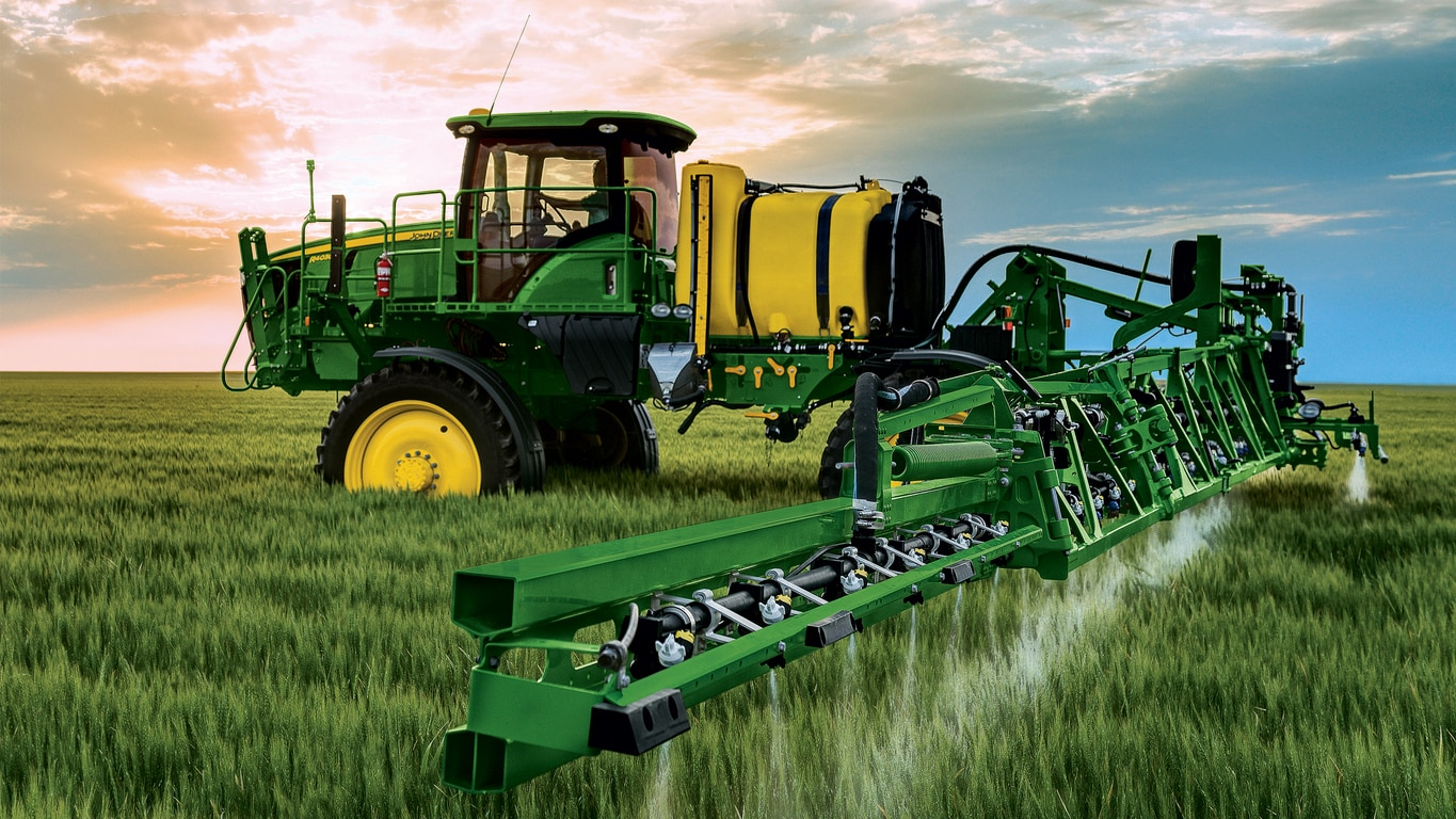 John Deere Self-Propelled Folding Sprayer with 100 Foot Boom