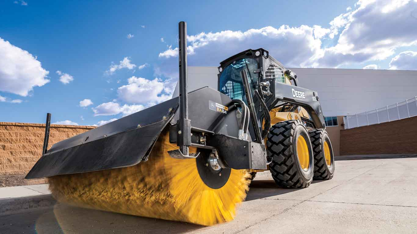 John Deere construction attachments financed with commercial line of credit