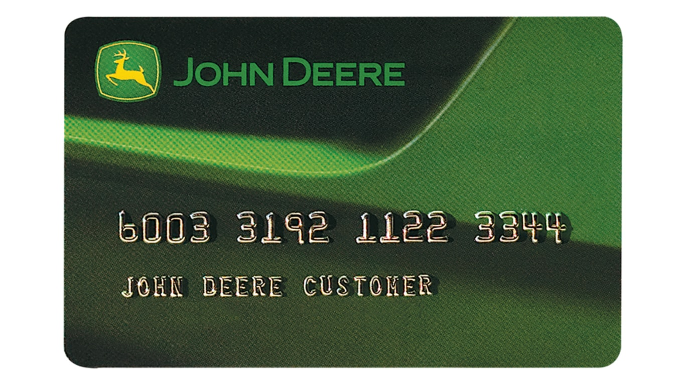 John Deere Revolving Plan Club Card