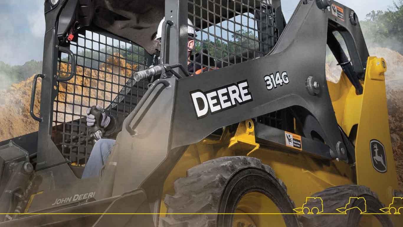 John Deere 314G Skid Steer