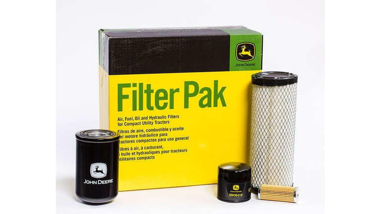 Save 10%† on Compact Utility Tractors Filter Paks