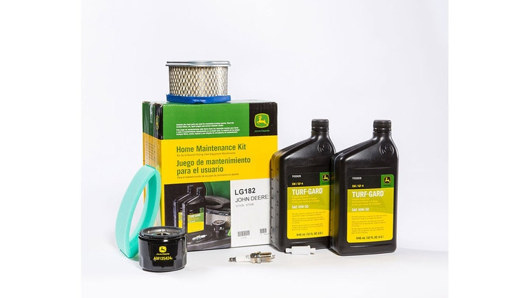 Save 15%† on Home Maintenance Kits for Riding Lawn Equipment and Gator™ Utility Vehicles