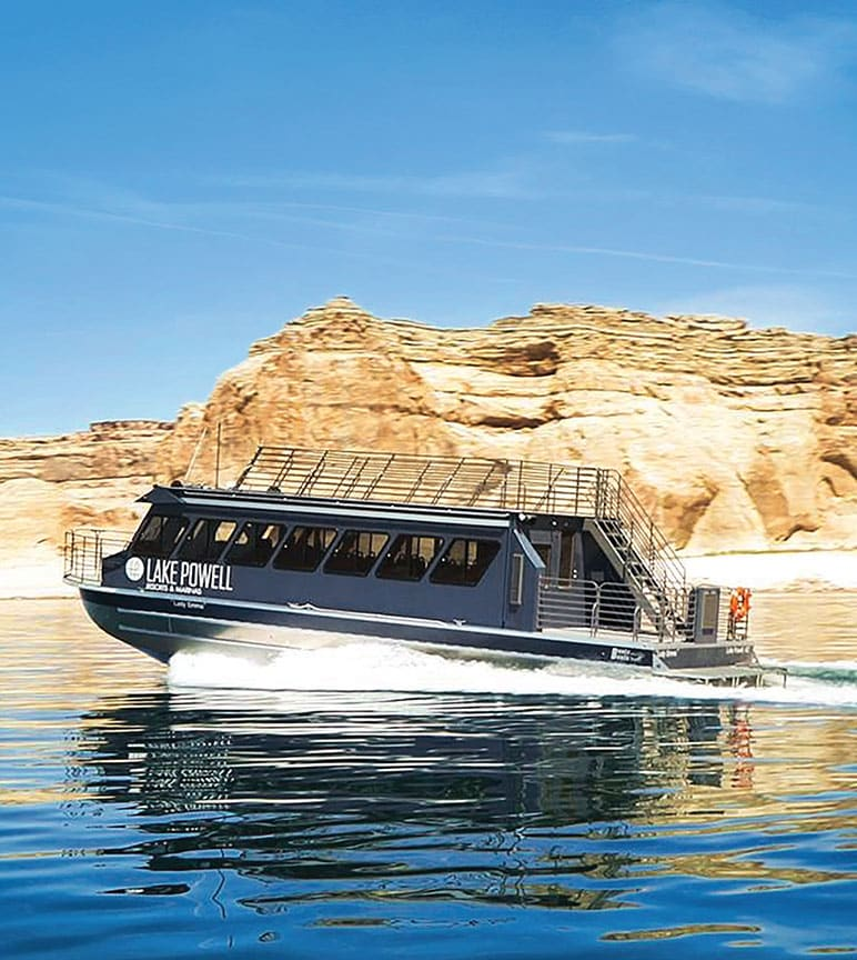 A Bentz Boat on Lake Powell