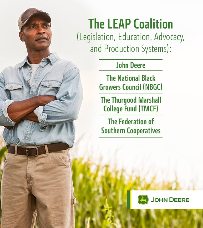 The LEAP coalition will help black farmers address heirs' property rights