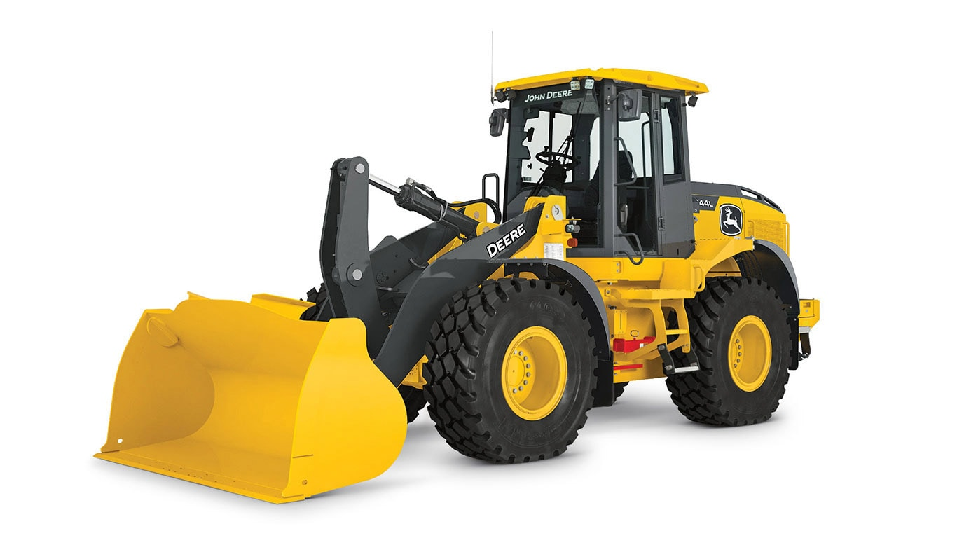 544L Wheel Loader on a plain white background
