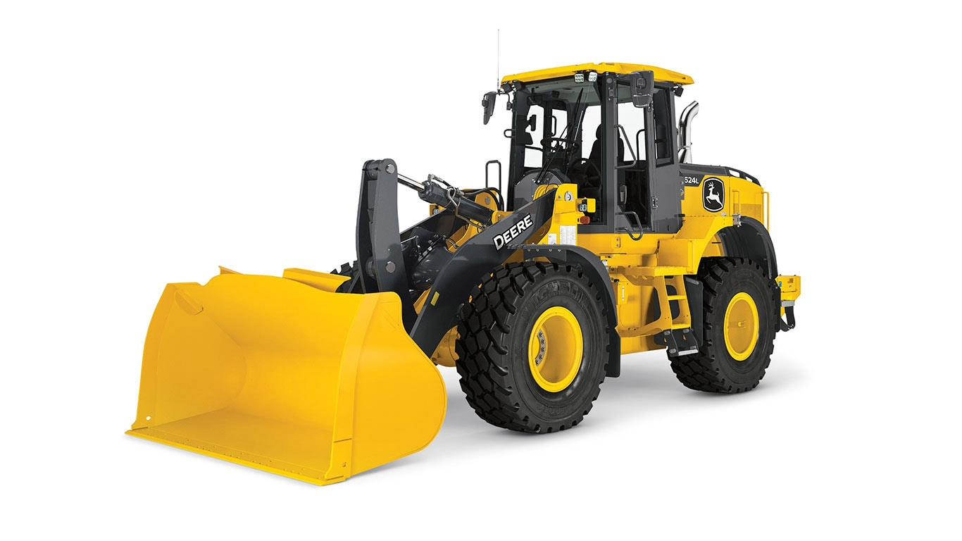 624L Wheel Loader on a plain white background