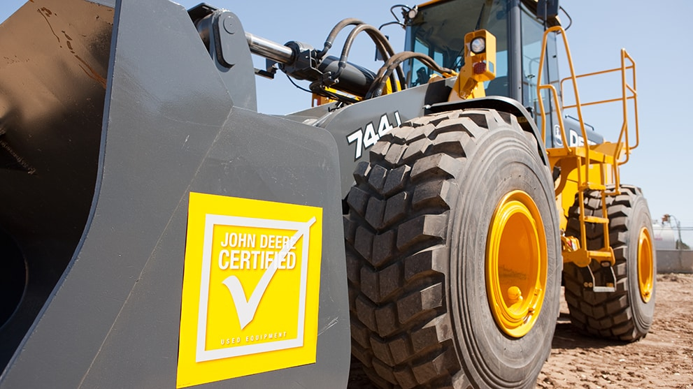 John Deere Certified Used Construction Equipment For Sale