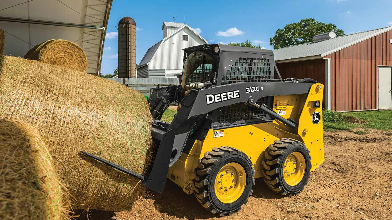 John Deere Skid Steer >> Compact Equipment John Deere Us