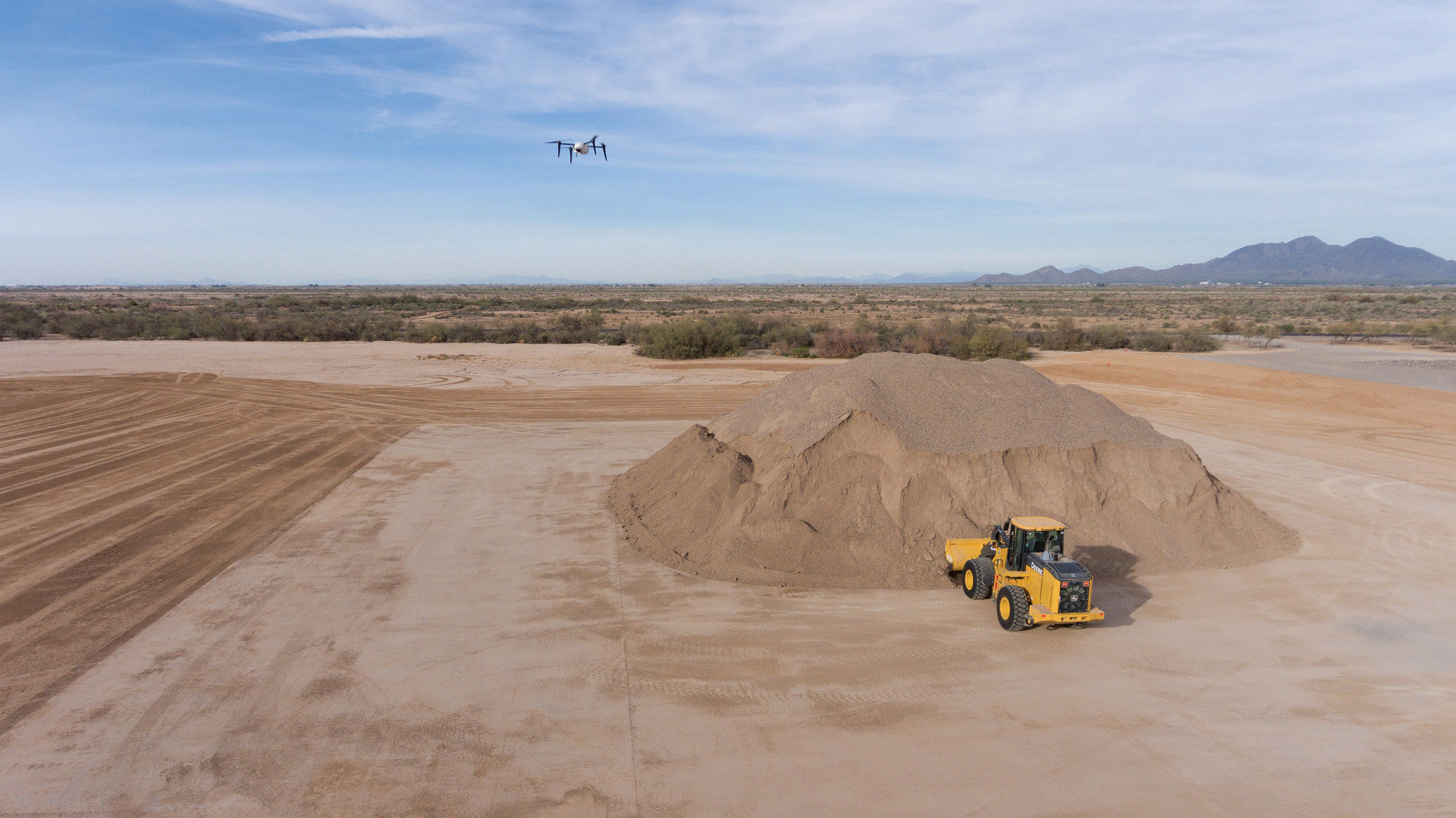 drone surveying materials