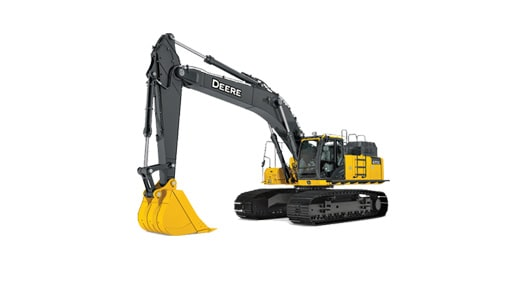 production-class excavator