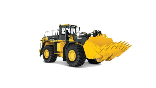 production-class four-wheel-drive loader