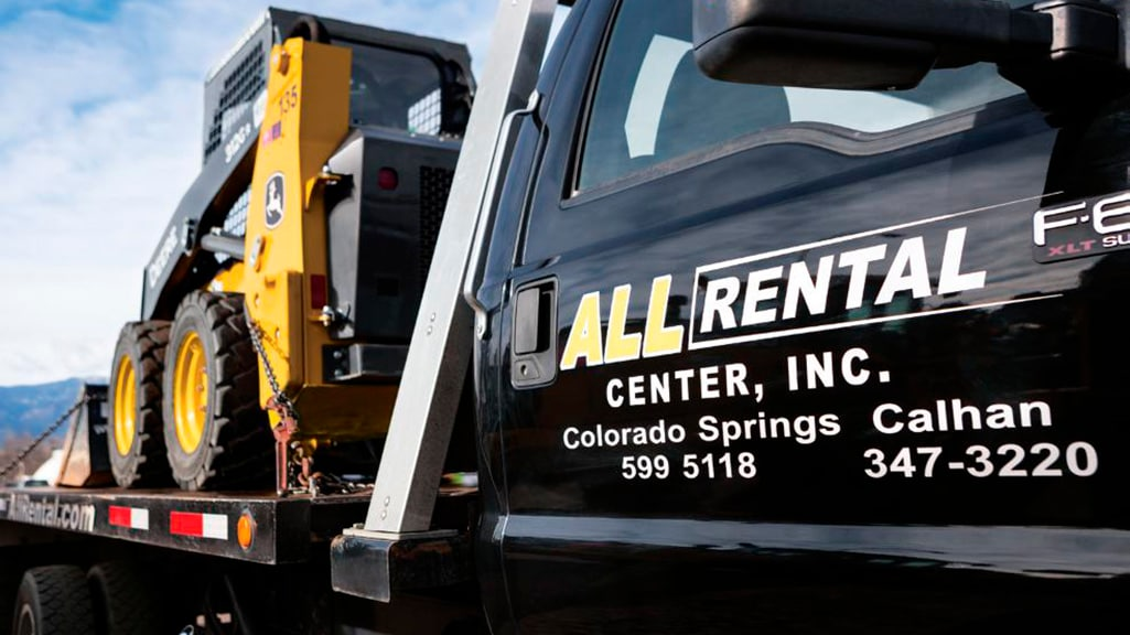 All Rental Truck Decal
