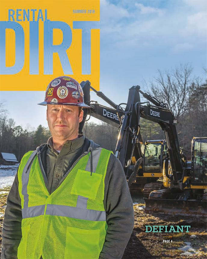 Cover of current The Rental Dirt issue