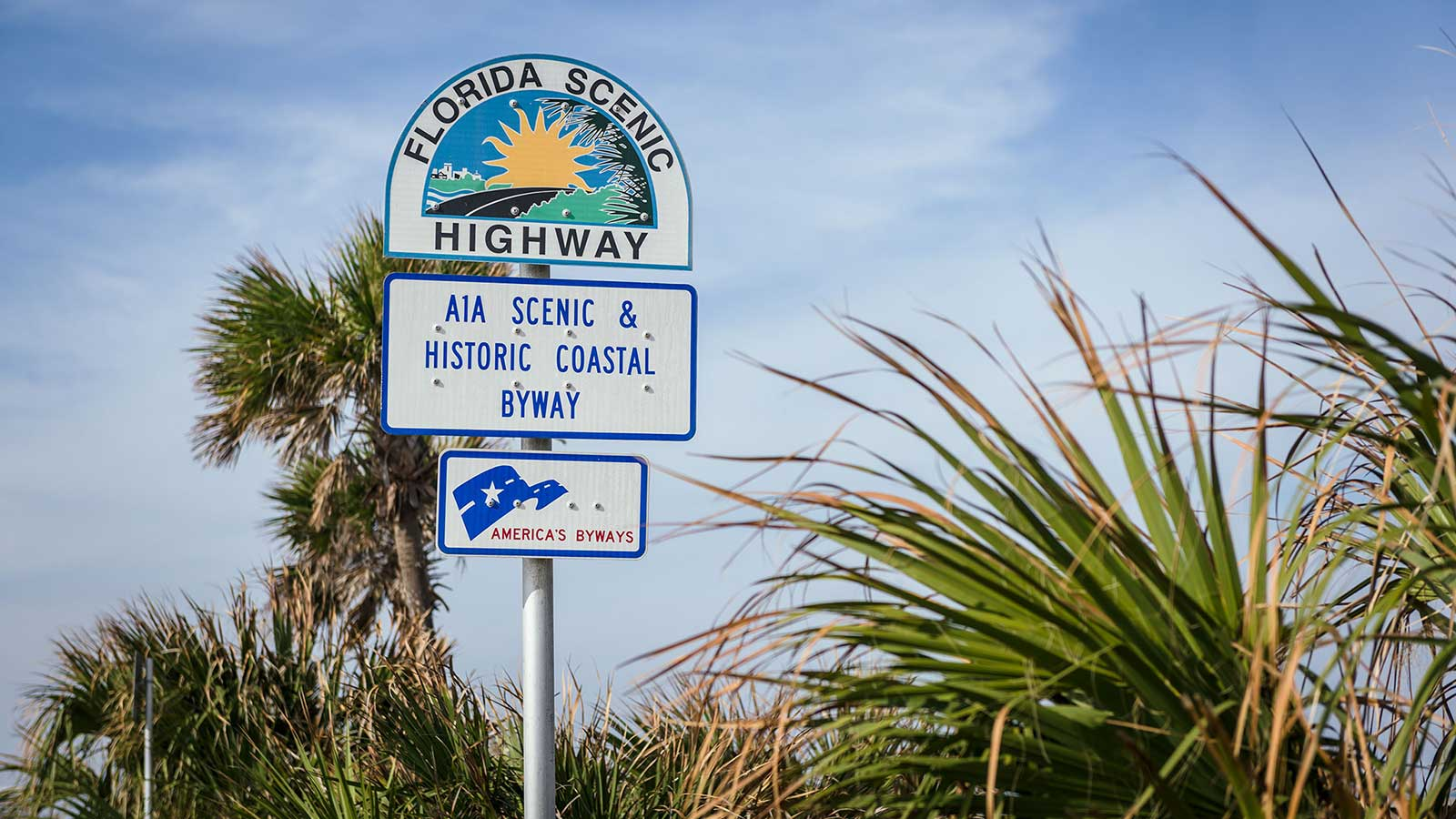 A1A Florida Scenic Highway sign