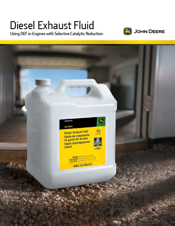 Diesel Exhaust Fluid Brochure