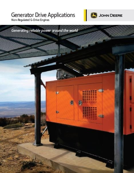 Generator Drive Non-Regulated Brochure