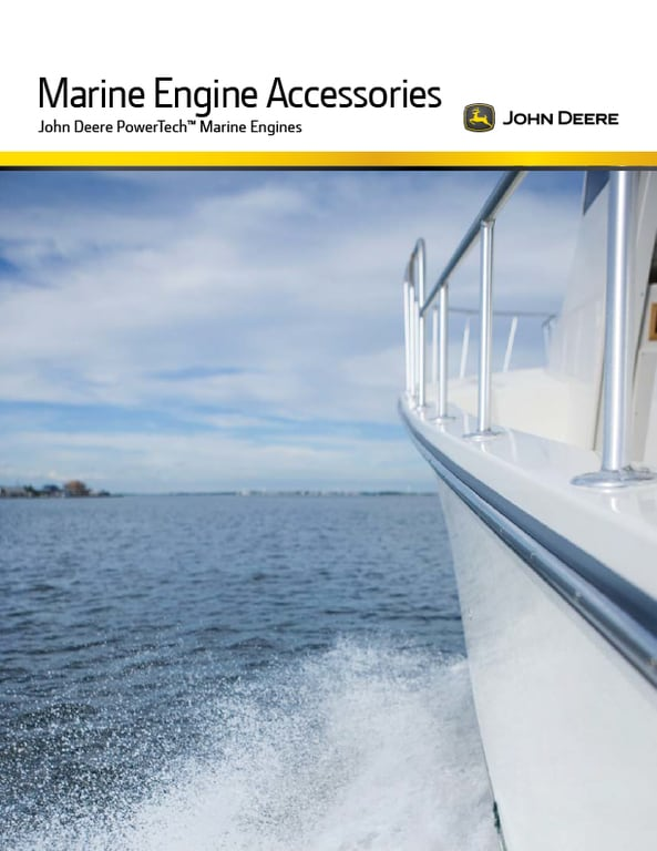 Marine Engine Accessories Brochure