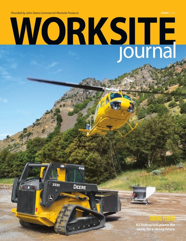 Worksite Journal Winter 2017 cover