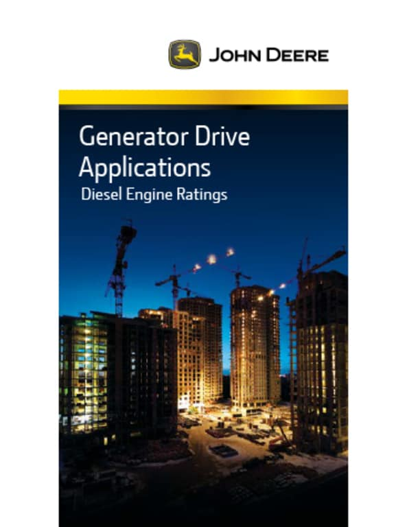 Generator Drive Engine Selection Guid