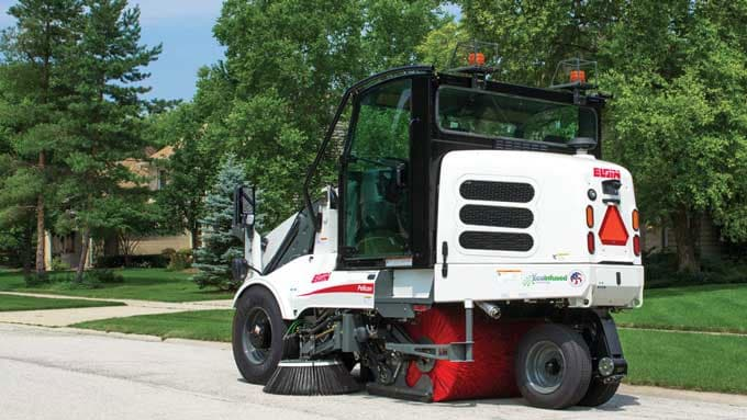 Elgin's street sweeper